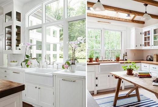 Bật mí 5 cách giúp tăng nguồn ánh sáng tự nhiên cho căn bếp
