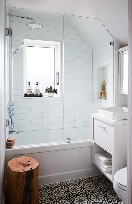 Cải thiện không gian phòng tắm với diện tích nhỏ