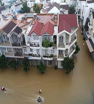 Làm thế nào để nhà không bị ngập trong mùa mưa