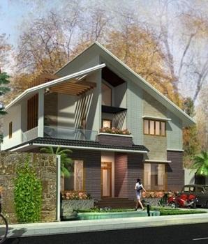 Thiết kế nhà mái lệch sẽ là xu hướng nhà ở năm nay