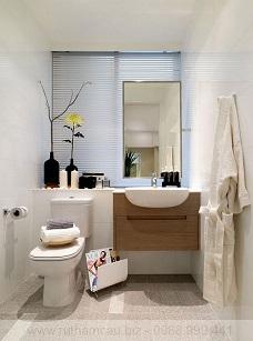 Tư vấn thiết kế nội thất nhà vệ sinh đẹp diện tích nhỏ với giá rẻ