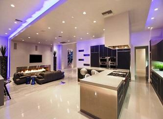 Yếu tố ánh sáng trong thiết kế nội thất